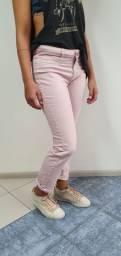 Calça Jeans Rosé. Tam 38