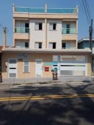 Cobertura com 2 dormitórios à venda, 53 m² por R$ 440.000 - Paraíso - Santo André/SP