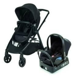 Carrinho Bebê 3-1 Travel System Anna - Preto - Maxi-cosi-uv