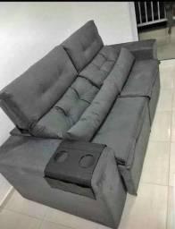 Lindo e Muito Confortável Sofá Retrátil e Reclinável