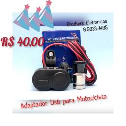 Carregador USB para Moto