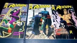 Robin de 1992 mini série completa em 3 edições, em perfeito estado.