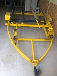 Carreta Rodoviária para 2 Jet Ski