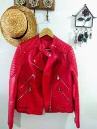 Vendo jaqueta vermelha Aquamar