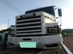 Vendo Scania engatado em carreta dois eixos