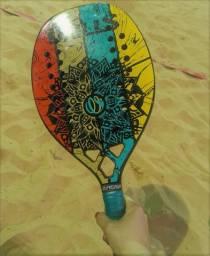 Raquete Beach Tenis Drills. Parcelo no cartão