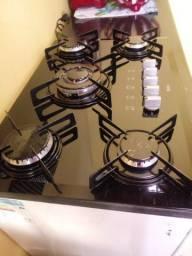 Fogão cooktop 5 bocas na garantia