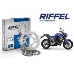 Kit Transmissão Fazer 250 2018/2020 - Riffel