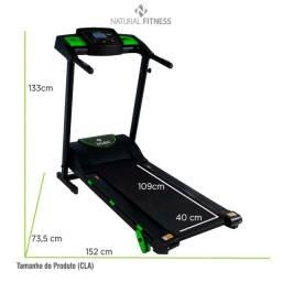 Esteira Eletrica Ergometrica para Residência Natural Fitness - Produto Novo