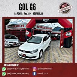 VW - VolksWagen Gol (novo) 1.6 Power/Highi T.Flex 8v 4P 2014 Flex