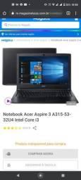 Notebook Acer i 3