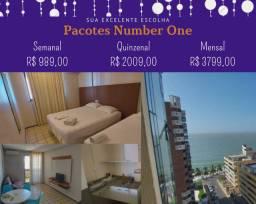 Pacotes Flat Número One - Ponta D'areia