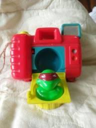 Antigo brinquedo dos Tartarugas ninjas