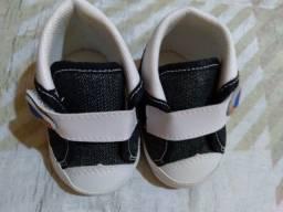 Sapatos infantil menino até 2 anos 35 cada