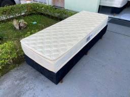 cama box solteiro medida especial 0.77 X 1.88