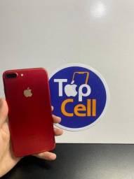 iPhone 7 Plus 256gb vermelho seminovo