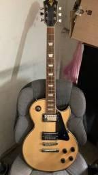 Guitarra lespaul Phx seminova, implacável e linda