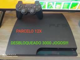 PS3 slim desbloqueado....Xbox one s 1 tb parcelo entrego