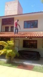 pintura/limpeza de telhados e manutencao