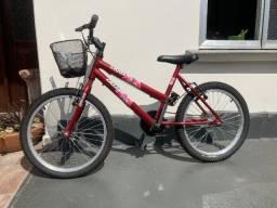 Bicicleta Kitty Ciclare Aro 20 Feminina Barato