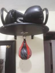 Saco de boxe suporte speed ball