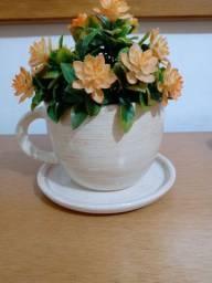 Vasos xícara decoração