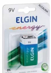 Bateria alcalina 9 V ELGIN