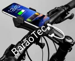 Suporte Com Lâmpada Para Bicicleta FH-5501