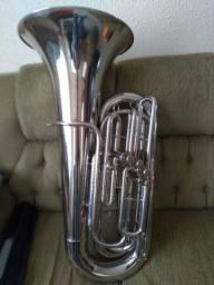 Tuba Weril J681  3/4 CC Dó 4 Pistos Originais 6.500,00 À Vista.