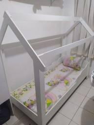 Cama montessoriana em MDF, medidas cama solteiro