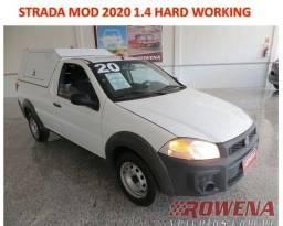 Título do anúncio: Strada 1.4 Hard Working mod 2020 Ar + Dir + Capota Rigida