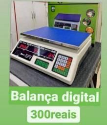 Balança digital 40kg nova completa gd