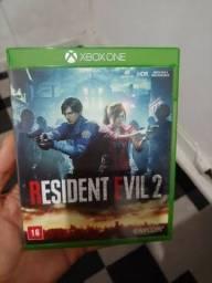 Resident Evil 2 Remake mídia física Xbox One