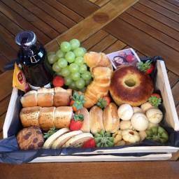 Cesta de café da manhã - Dia dos Pais