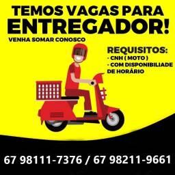 Moto Entregador (Com Moto)