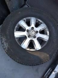 Rodas e pneus originais Amarok aro 16