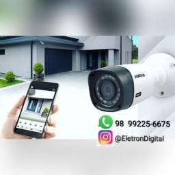 Câmera intelbras Câmera Motorola e alarme