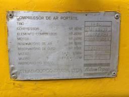 Compressor de ar portátil diesel