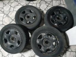 Jogo de rodas 15 Ford EcoSport