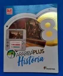 Araribá Plus - História - 8º Ano - livro novo, sem uso