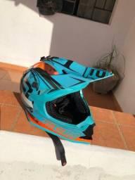 Capacete motocross asw fusion