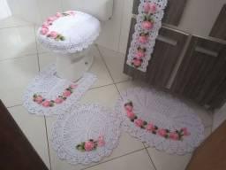 Jogo de banheiro 5 peças