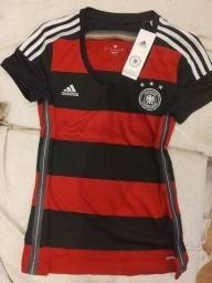 Camisa Alemanha 2014 Oficial feminina