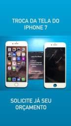Troca de telas e baterias de iPhone
