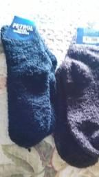 Polainas e meias