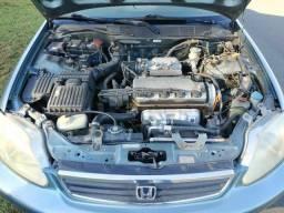 Pra sair hoje Honda Civic Ex Automático 1.6 4p. Completo