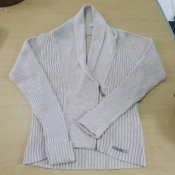 Título do anúncio: Jaqueta Feminina Tamanho M Hering<br>Cor Nude 100% algodão