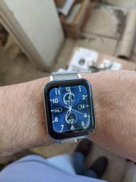 Smartwatch DTX Ultra Novo - Pulseira Milamesa Prata ou Preto