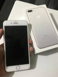 Iphone 7 Plus 32GB Silver ( Extra )  R$ 1.850 em 4x Sem Juros