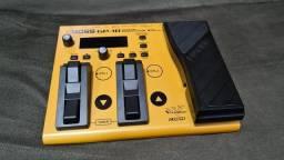 Pedaleira sintetizador guitarra boss GP-10 com gk-3